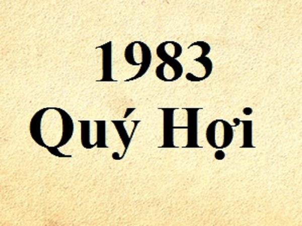 Tìm hiểu Nam 1983 hợp tuổi nào để kết hôn ?